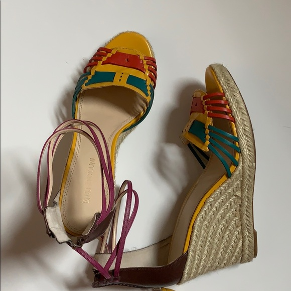 Enzo Angiolini Shoes - Colorful Espadrilles Wedges